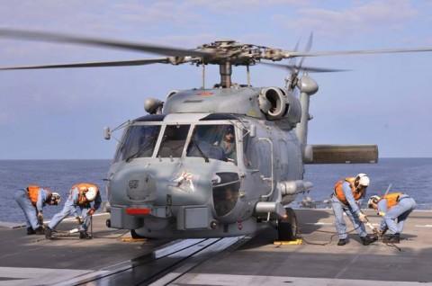 EU海上部隊との共同訓練1