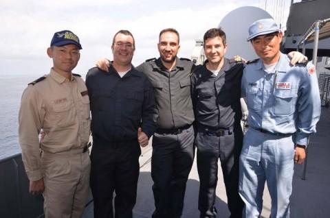 EU海上部隊との共同訓練2
