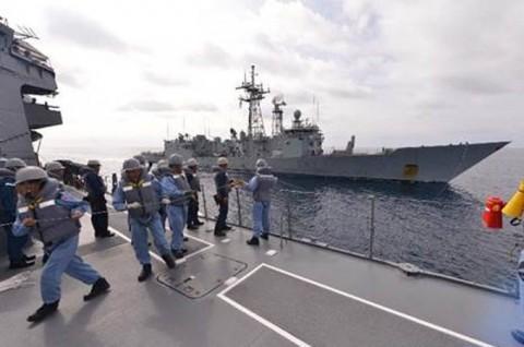 EU海上部隊との共同訓練3
