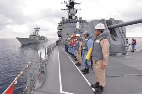 EU海上部隊との共同訓練4