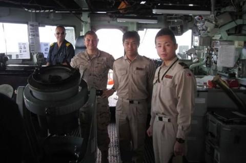 EU海上部隊との共同訓練5