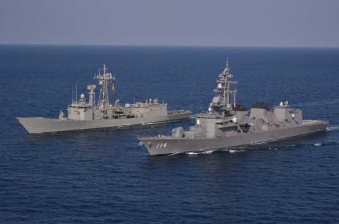 EU海上部隊との共同訓練6