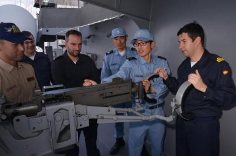 EU海上部隊との共同訓練7