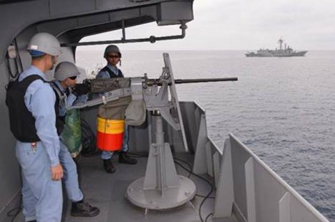 EU海上部隊との共同訓練8