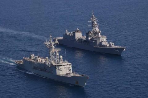 EU海上部隊との共同訓練9