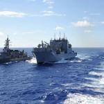 平成27年度 第1回護衛隊群米国派遣訓練(グアム方面)護衛艦いせ