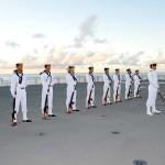 平成27年度 第1回護衛隊群米国派遣訓練(グアム方面)