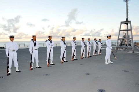 平成27年度 第1回護衛隊群米国派遣訓練(グアム方面)01