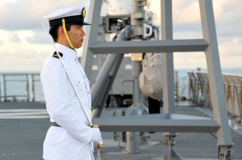 平成27年度 第1回護衛隊群米国派遣訓練(グアム方面)02