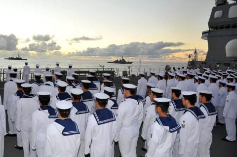 平成27年度 第1回護衛隊群米国派遣訓練(グアム方面)04