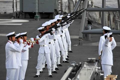 平成27年度 第1回護衛隊群米国派遣訓練(グアム方面)05