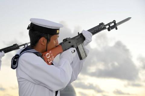 平成27年度 第1回護衛隊群米国派遣訓練(グアム方面)06
