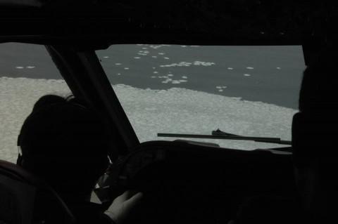 海氷観測 海上自衛隊八戸航空基地 P-3C No2