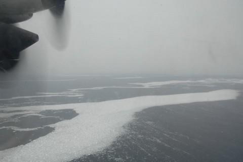 海氷観測 海上自衛隊八戸航空基地 P-3C No3