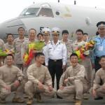 派遣海賊対処行動航空隊(21次隊)ベトナムのダナンに寄港