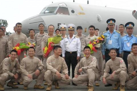 派遣海賊対処行動航空隊(21次隊)ベトナムのダナンに寄港2