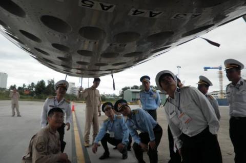 派遣海賊対処行動航空隊(21次隊)ベトナムのダナンに寄港4