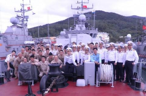 派遣海賊対処行動航空隊(21次隊)ベトナムのダナンに寄港5
