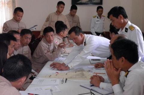 派遣海賊対処行動航空隊(21次隊)ベトナムのダナンに寄港6
