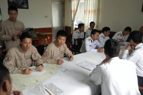 派遣海賊対処行動航空隊(21次隊)ベトナムのダナンに寄港7