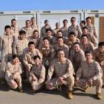 第22次派遣海賊対処行動航空隊の隊員の様子 海上自衛隊海賊対処