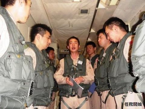 22次派遣海賊対処行動航空隊の様子No2