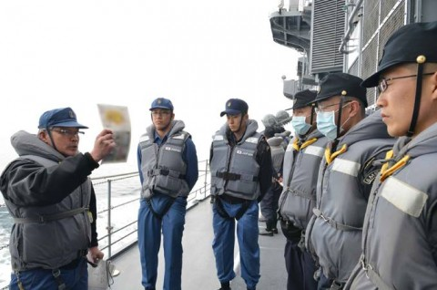 平成27年度外洋練習航海(部内)の様子No04