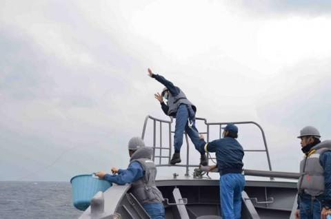 平成27年度外洋練習航海(部内)の様子No08