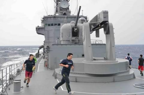平成27年度外洋練習航海(部内)の様子No09