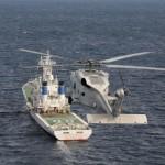 佐世保地方総監部と海上保安庁第七管区との共同訓練(28年2月23日)