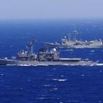 海上自衛隊 日米豪共同海外巡航訓練(ベンガル湾)