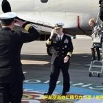 アメリカ海軍第7艦隊司令官 八戸航空基地に来訪