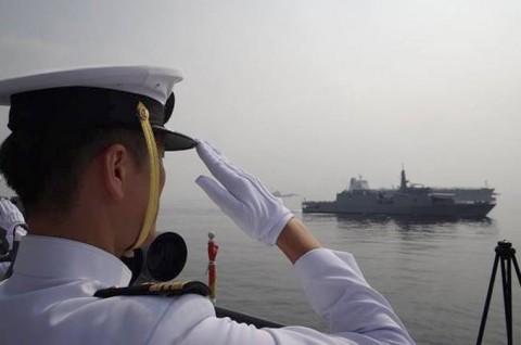 インド海軍主催国際観艦式への参加No04