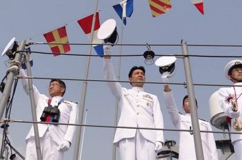 インド海軍主催国際観艦式への参加No05