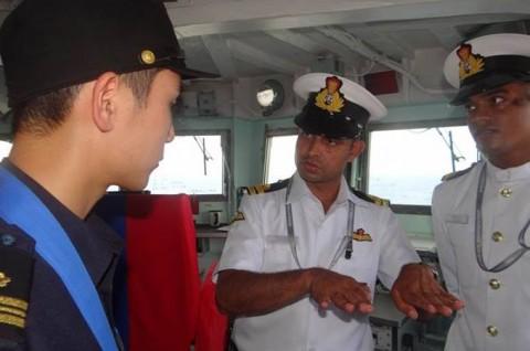 インド海軍主催国際観艦式への参加No11