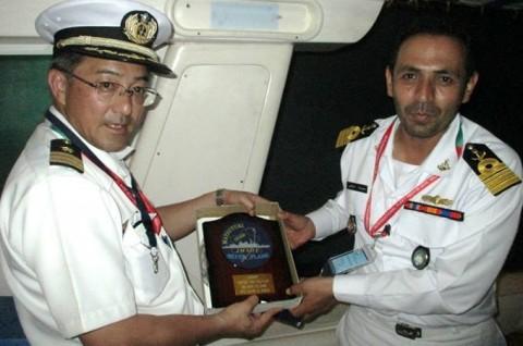 インド海軍主催国際観艦式への参加No12