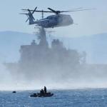 平成27年度海上自衛隊 機雷戦訓練(伊勢湾)MH-53E