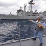 日本とEU海賊対処共同訓練【派遣海賊対処行動水上部隊(23次)】