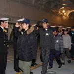 海上自衛隊輸送艦「くにさき」で体験入隊(帯広地方協力本部)