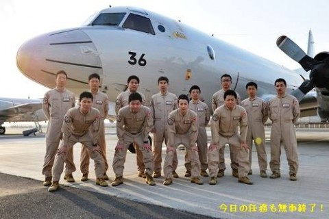 2第22次派遣海賊対処行動航空隊の隊員の様子2画像No2