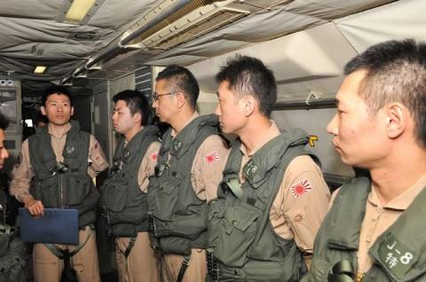 第22次派遣海賊対処行動航空隊の隊員の様子3海上自衛隊海賊対処5