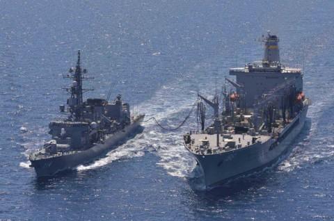 派遣海賊対処行動水上部隊(23次隊) 海上自衛隊facebook1