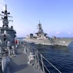 派遣海賊対処行動水上部隊(23次隊) 護衛艦「すずなみ」、「まきなみ」隊員の記録