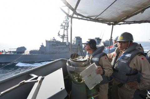 派遣海賊対処行動水上部隊(23次隊) 護衛艦「すずなみ」、「まきなみ」隊員の記録2