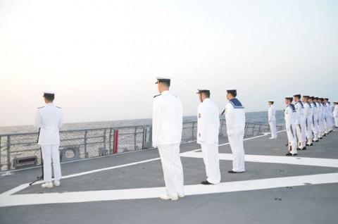 派遣海賊対処行動水上部隊(24次隊) 護衛艦ゆうだち隊員の記録No09