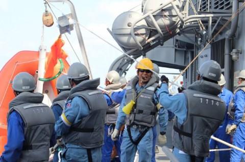 派遣海賊対処行動水上部隊(24次隊) 護衛艦「ゆうぎり」隊員の記録23