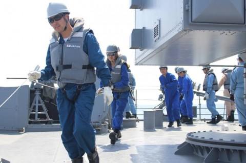 派遣海賊対処行動水上部隊(24次隊) 護衛艦「ゆうぎり」隊員の記録24