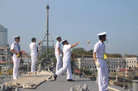 派遣海賊対処行動水上部隊(24次隊) 護衛艦「ゆうぎり」隊員の記録25