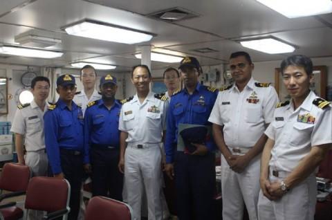 派遣海賊対処行動水上部隊(24次隊) 護衛艦「ゆうぎり」隊員の記録26