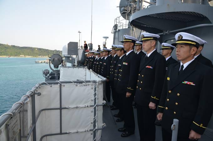 平成27年度外洋練習航海10【海上自衛隊一般幹部候補生課程 ...